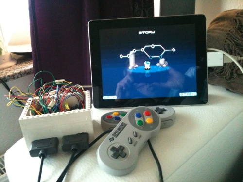 DIY SNES-iCade-Adapter