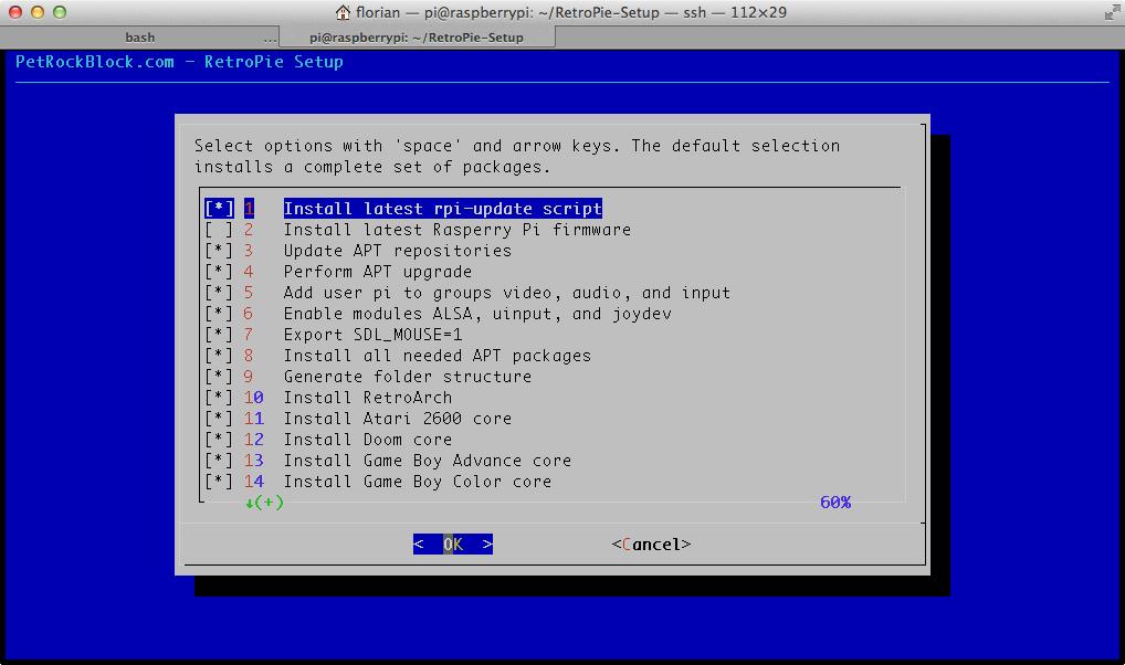 Raspberry PI ou l'univers de l'émulation Retropiesetup2